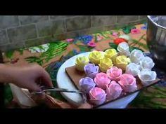 Rosas de Buttercream para Decorar Tartas y Pasteles - YouTube