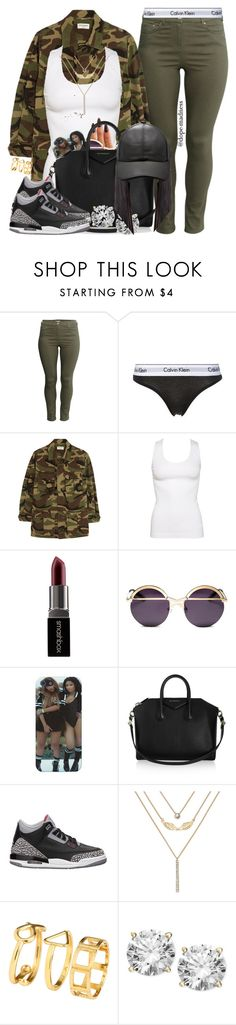 """""""Fetty Wap   ZooWap"""" by dope-madness ❤ liked on Polyvore featuring moda, H&M, Calvin Klein Underwear, Yves Saint Laurent, KEEP ME, Smashbox, Coco && Breezy, Givenchy, NIKE y Decree"""