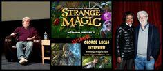 George Lucas: Star Wars, Family and Strange Magic #StrangeMagicEvent