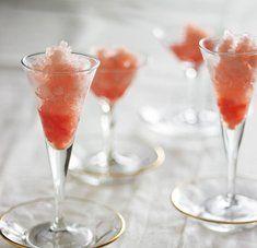 Grapefruit And Campari Granita