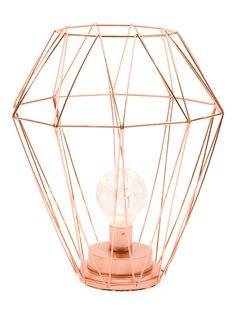Copper Wire Lantern