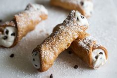 The iconic Sicilian dessert is one of my favorites because it isn't overly sweet – it's flakey shell and ricotta and mascarpone filling with chocolate chips are the perfect mixture of crispy and creamy to end (or start if you're like me) any meal.