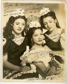 La Carmen Amaya  y sus hermanas