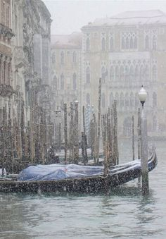 Venice, Italy. It was rainy like this when we travelled there too...but we had an amazing time.