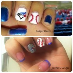 Nails By Jordan Leigh Toronto Blue Jays Baseball Summer