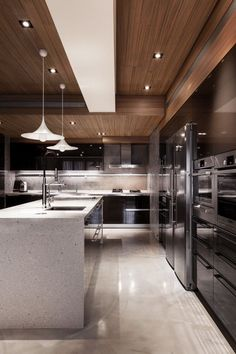 A beautiful modern kitchen #kitchen #homedecoration #luxuryhomes