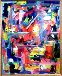 Haley, Tim - Abstract - Abstract Expressionism - Acrylic - Abstract