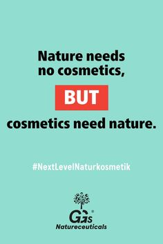 Die Natur braucht keine Kosmetik, aber Kosmetik braucht die Natur. #isso #Naturkosmetik Skin Care, Cosmetics, Nature, Organic Beauty, Products, Natural Skin Care, Elder Flower, Naturaleza, Skincare Routine