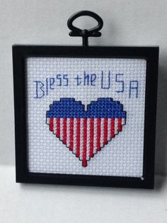 Happy Veterans Day!!!! Enjoy a handmade cross stitch to give the Veteran in your life!!!!!