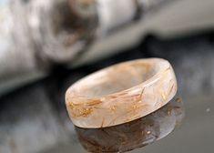Echte paardebloem ring  de ring van de botanische  hars door VyTvir
