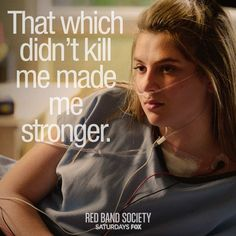 "S1 Ep13 ""Waiting for Superman"" - Kara's found her strength again, all with the help of Hunter's heart. ♥ #RedBandSociety"