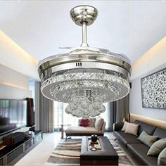 KHSKX Personality Crystal stealth ceiling fan light, styl... https://www.amazon.ca/dp/B01LXZ8GVB/ref=cm_sw_r_pi_dp_x_17HZybPCASJZX