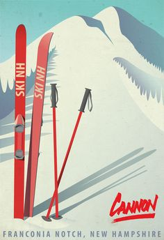 vintage style ski New Hampshire print. would like to customize to say Loon Mountain, New Hampshire. vintage style ski New Hampshire print. would like to customize to say Loon Mountain, New Hampshire. Ski Vintage, Cars Vintage, Vintage Ski Posters, Retro Poster, Poster S, Style Vintage, Design Vintage, Vintage Racing, Vintage Prints