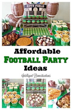 We're excited to share with you our easy Football Party Ideas and our 3 Ingredient Crockpot Lemon Pepper Chicken Wings recipe. Lemon Pepper Chicken Wings, Bbq Chicken Wings, Chicken Wing Recipes, Halloween Food For Party, Easy Halloween, Crock Pot, Fall Recipes, Delicious Recipes, Cod Recipes