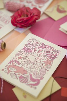 Happy Valentine's Day | Orange Paper Shoppe | Photo by Kristina Lee Photography