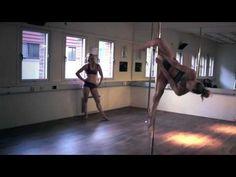 Amazing Pole Battle between Oona Kivela and Bendy Kate - YouTube