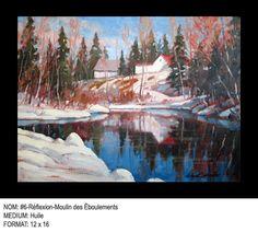 Helmut Langeder Le Moulin, Painting, Art, Painting Art, Paintings, Kunst, Paint, Draw, Art Education