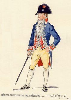 Médico de hospital del Ejército 1808-15