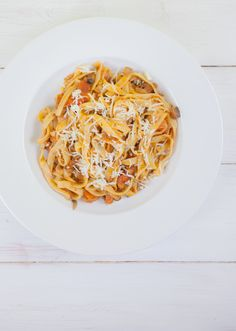 Mushroom & Lentil Bolognese