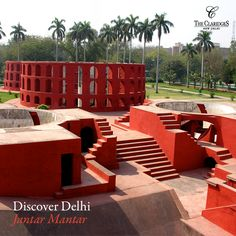 Just a stones throw away from The Claridges, lies a monument steeped in India's history. Know more about India's astronomical past at Jantar Mantar! Contact our Concierge at +91 11 3955 5000, 4133 5133 to know more.