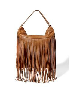 Madden Girl MGPULSE Fringe Hobo - Trend-right and fabulous, this hobo boasts fun fringe for a look you are sure to love! With a roomy interior, this hobo is perfect for the woman on the go.