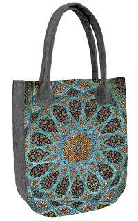 Filcová kabelka City Aisha Straw Bag, Tote Bag, Handmade, Bags, Products, Fashion, Tatoo, Felting, Textiles