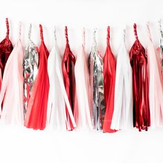Pink Graduation Party, Grad Parties, Red Party Decorations, Bachelorette Party Decorations, Gold Tissue Paper, Red Paper, 40th Birthday Celebration Ideas, Sweetheart Bridal, Red Rose Wedding