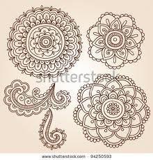 free mehndi flower designs - Google Search