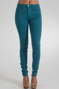 Joe&39s Jeans The Skinny in Blair Medium Blue $178.00 Back View