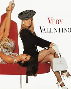 Risultati immagini per very valentino adv campagna 92