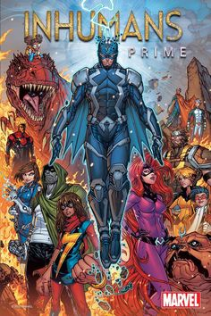 "Marvel relaunching ""Inhumans"" comic book line in 2017 ahead of its debut as an IMAX-promoted TV series http://ift.tt/2h9D2E6"