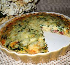 Melissa's Southern Style Kitchen: Ham & Spinach Quiche