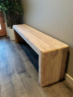 Entryway Mud Room Hallway Foyer Bench Custom Sizes and Wood Bench Plans, Diy Wood Bench, Outdoor Wood Bench, 2x4 Bench, Wood Benches, Diy Wood Projects, Furniture Projects, Furniture Design, Diy Bank