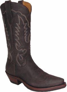 "Star BootBrown Crazy Horse Cowboy 11"" W8562"
