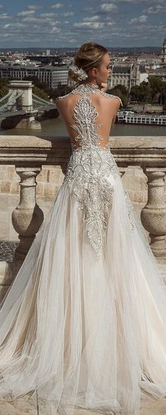 Platinum oriental wedding dress #weddings #weddingdresses #weddingideas