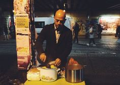 One Syrian refugee is paying back the country that welcomed him by feeding their homeless.