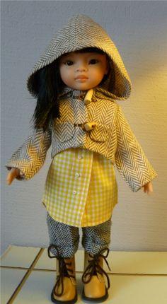 Patron de couture d'une manteau pour poupée   Ilys http://www.ilys.fr/manteau-poupee/