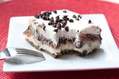 Chocolate Chip Cookie Delight.  (Plus there are a LOT of yummy looking desserts on this site!)