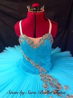 Aqua turquoise ballet tutu. www.sewnbysaratutus.weebly.com
