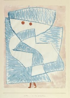 Paul Klee - a child goes home , 1933