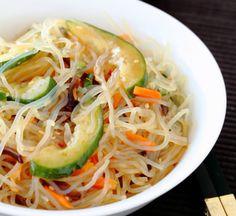 295kcal Spicy Shirataki Noodle Salad