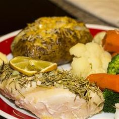 Easy Garlic and Rosemary Chicken Recipe - This was a very yummy and simple chicken recipe and healthy.