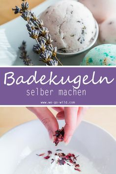 Very easy and with instructions to make bath balls yourself- Ganz einfach und mit Anleitung Badekugeln selber machen Make bath balls yourself – natural cosmetics recipe for bath bombs - Birthday Rewards, Nails Polish, Presents For Her, Holiday Break, Mom Day, Inexpensive Gift, How To Look Better, How To Make, You Are The Father