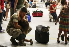 I'll Miss You | (U.S. Marine Corps photo by Cpl. Sarah Cherry/Released)