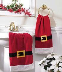 toallas navidad