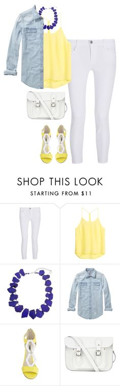 """""""Untitled #120"""" by rosemarylopez-1 ❤ liked on Polyvore featuring J Brand, H&M, Erica Lyons, Scotch & Soda, BCBGeneration and The Cambridge Satchel Company"""