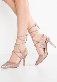 Pedro Miralles - YORK - Zapatos de salón con cordones - oro/rosa