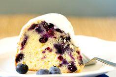 Blueberry-Lemon Buttermilk Bundt Cake