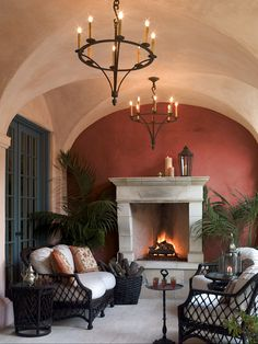 Tuscan style lighting for kitchens dining room fixtures chandeliers and pendants lee designs home improvement adorable our custom Interior Exterior, Exterior Design, Outdoor Rooms, Outdoor Living, Outdoor Retreat, Outdoor Seating, Outdoor Ideas, Chandeliers, Sweet Home