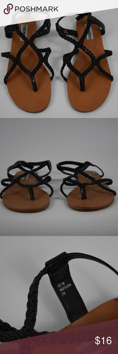 Steve Madden Koy Black Sandals Steve Madden Koy Black Sandals size 9M. New Condition. Please contact me with any questions. Steve Madden Shoes Sandals
